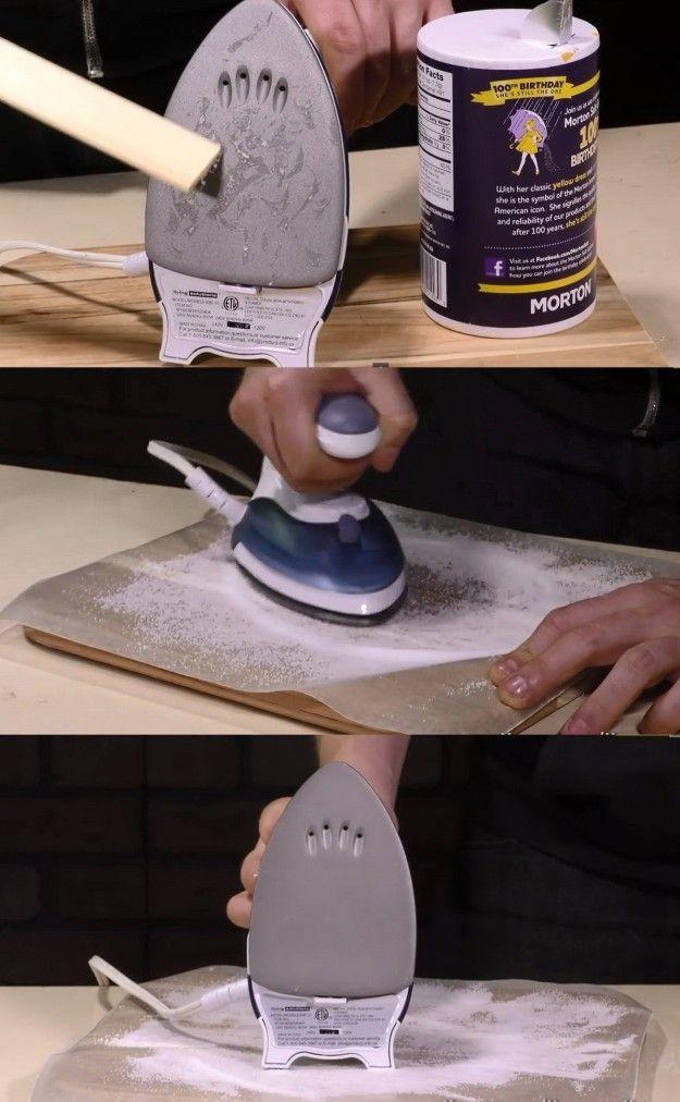 Вот что будет с квартирой, если поставить на пол стакан с солью и уксусом. Результат — уже через сутки — Полезные советы и рецепты