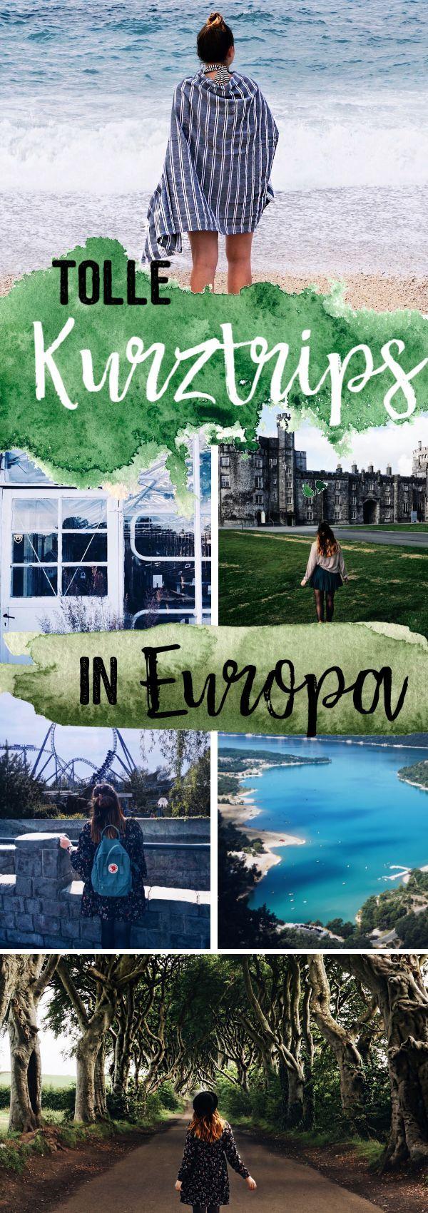 Die schönsten Kurztrips in Europa – Stadt, Natur & Action
