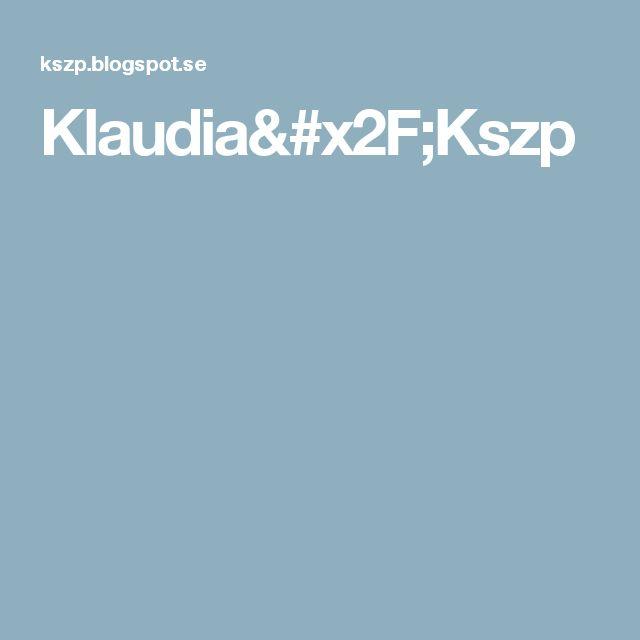 Klaudia/Kszp