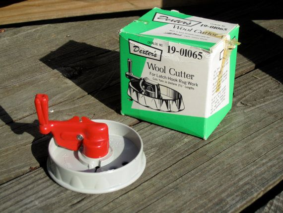 Dexter S Wool Cutter For Latch Hook Rug Work By Tackytuesdays 11 95 Freakin Want It Will Save Sooo Much Hookah Please