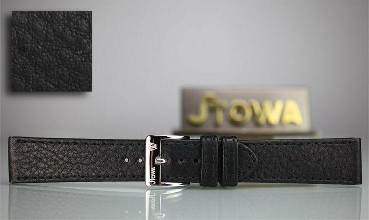 Stowa black leather strap