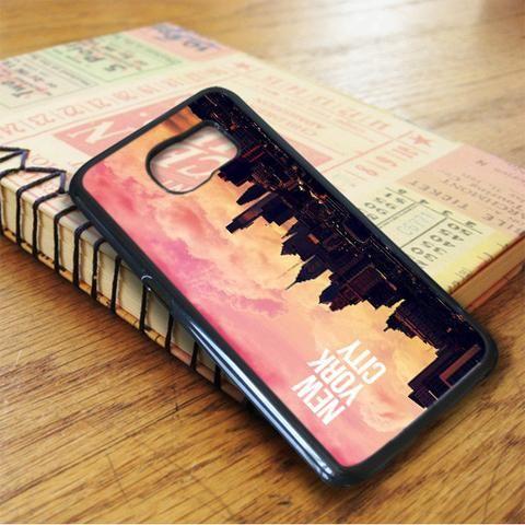 Sunset In New York City Samsung Galaxy S7 Case