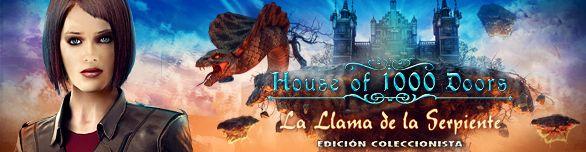 House of 1000 Doors La Llama de la Serpiente Edición Coleccionista #juego #juegos