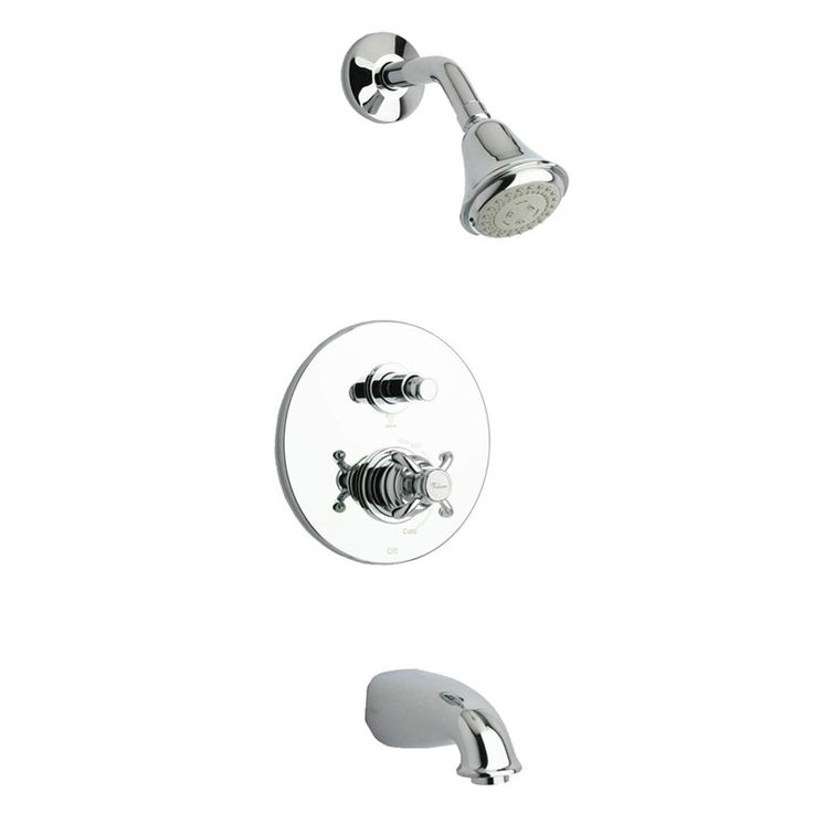 la toscana ornellaia 87cr797 tub and shower faucet set