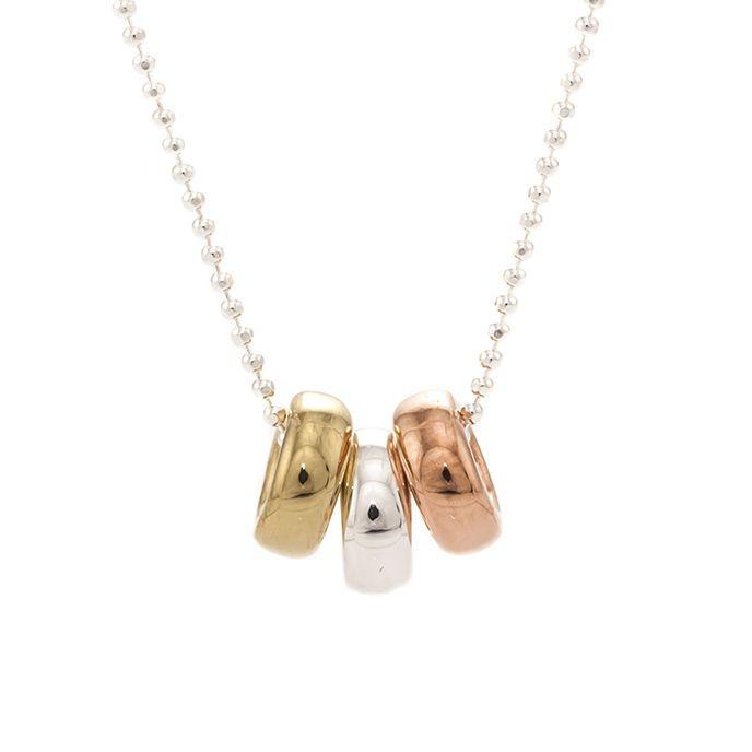 Trilogy necklace (925 silver), 69€ http://www.taika-korut.fi/product/408/trilogia-kaulakoru