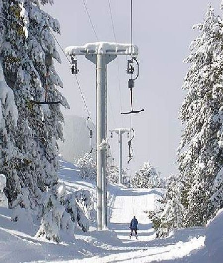 Troodos Mountain Ski Resort, Cyprus