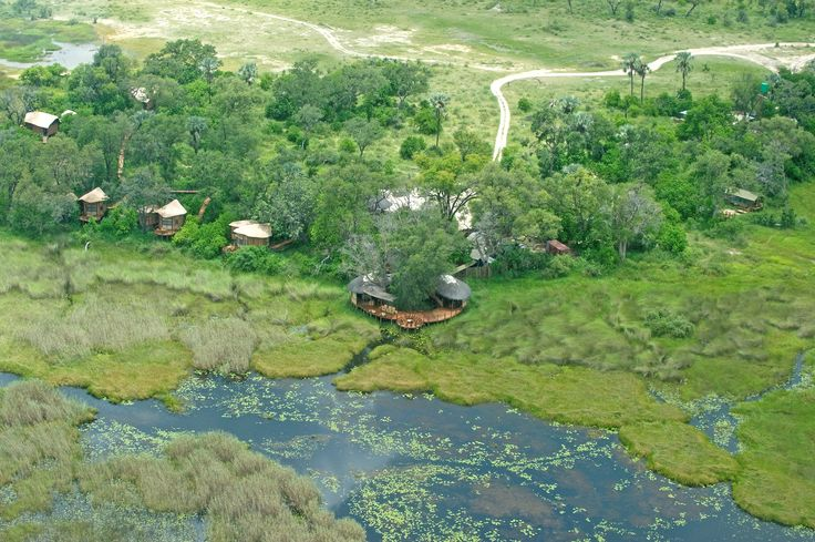 Set in a private concession for sheer exclusivity, Baines' Camp sits under shady trees overlooking a large, perennial lagoon just off the Boro River. #Botswana #SecretAfrica