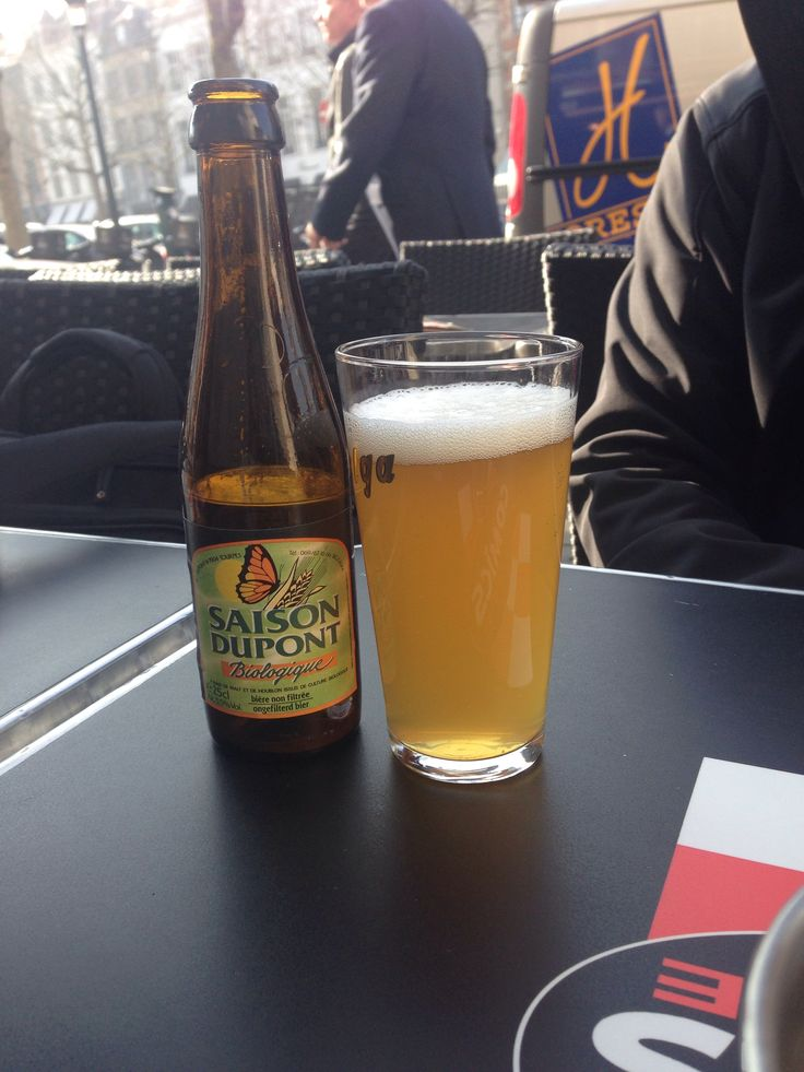 Organic #Saison DuPont in Brussels, #Belgium (over there organic=bio) #beer #beertrip