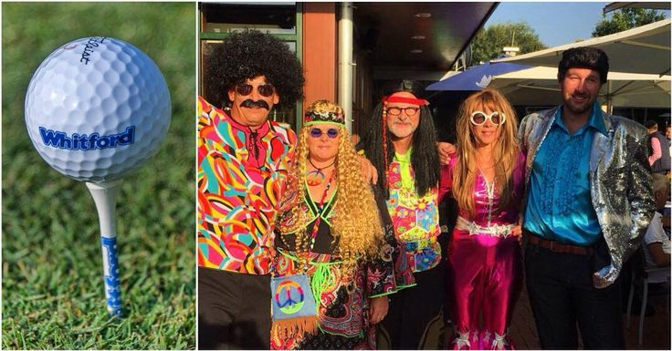 Have a look at the 10th Xylan Challenge behind the scenes!  Great fun with our attendees and Whitford colleagues who relived the colorful 60's and 70's.  Gorgeous weather that day with blue sunny sky and temperatures above 25C degrees!  .  #Xylan #Golf #Challenge #Wiesensee #Germany #behindthescenes #fun #goodweather #blast #hippies #WhitfordFamily #TBT #instadaily #photooftheday #igdaily #bestoftheday #picoftheday #igers #instagood