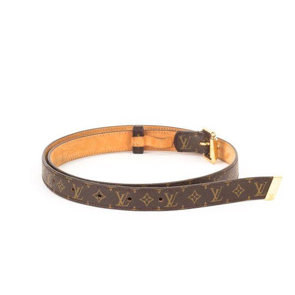 Pre-Owned Louis Vuitton Monogram Belt