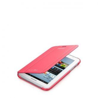 Oryginalne etui do Samsung Galaxy Tab 2 w wersji 7-calowej. Ochrania i zapewnia wygodę w codziennym użytkowaniu tabletu. Funkcja nachylenia ułatwia pisanie, oglądanie filmów lub zdjęć, gdziekolwiek jesteś.  Produkt w kolorze różowym.