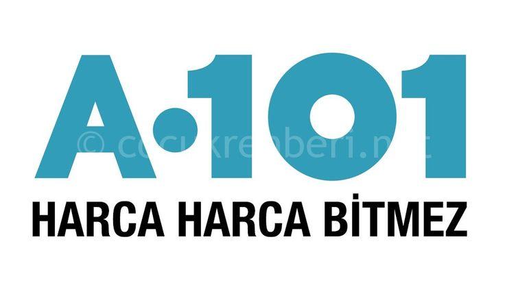 A101 Logo Afiş Harca Harca Bitmez
