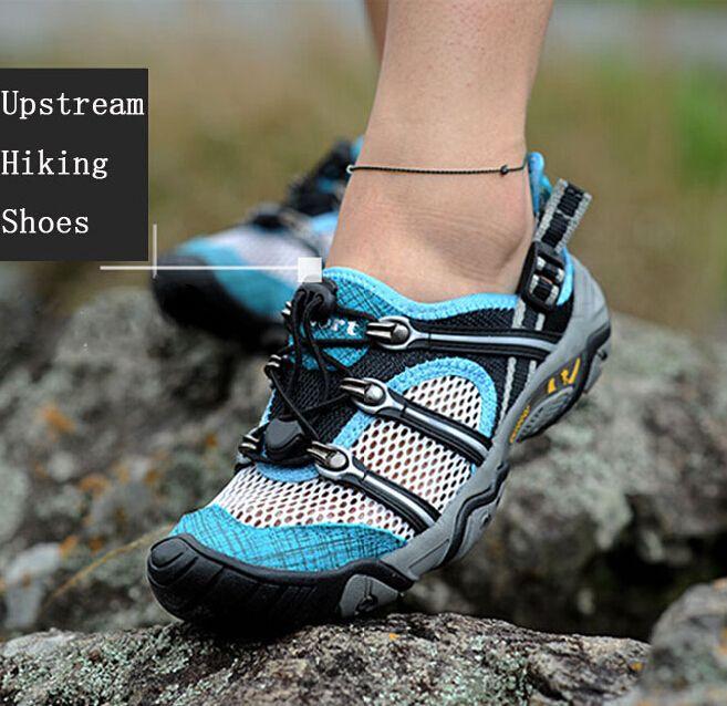 Encontrar Más Zapatos para caminar Información acerca de Los amantes del verano zapatos para caminar río arriba color negro rojo azul gris tamaño 35 44 , mujeres , hombres impermeables escalada zapatos, alta calidad zapato de papel, China muebles zapato Proveedores, barato zapato de cuero de Excellent Shoes & Boots en Aliexpress.com