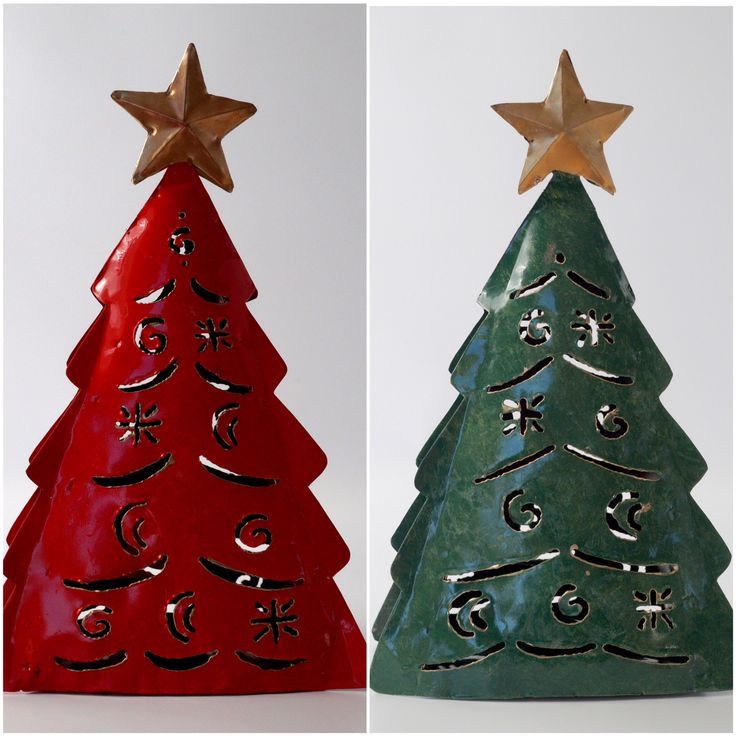 Metallic lantern Christmas tree!