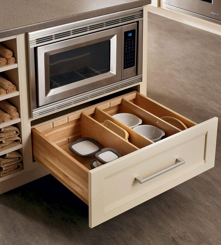 58 best kitchen cabinets images on pinterest wine for Kraftmaid microwave shelf