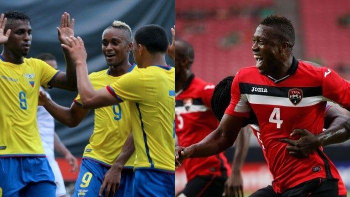 Ecuador vs Trinidad y Tobago en vivo -