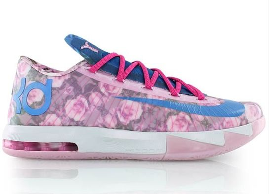 Nike KD VI Aunt Pearl                           The Aunt Pearl release is usual the most anticipated year to year as the shoe pays homage to Kevin Durant's late Aunt Pearl, who lost her battle with breast cancer.