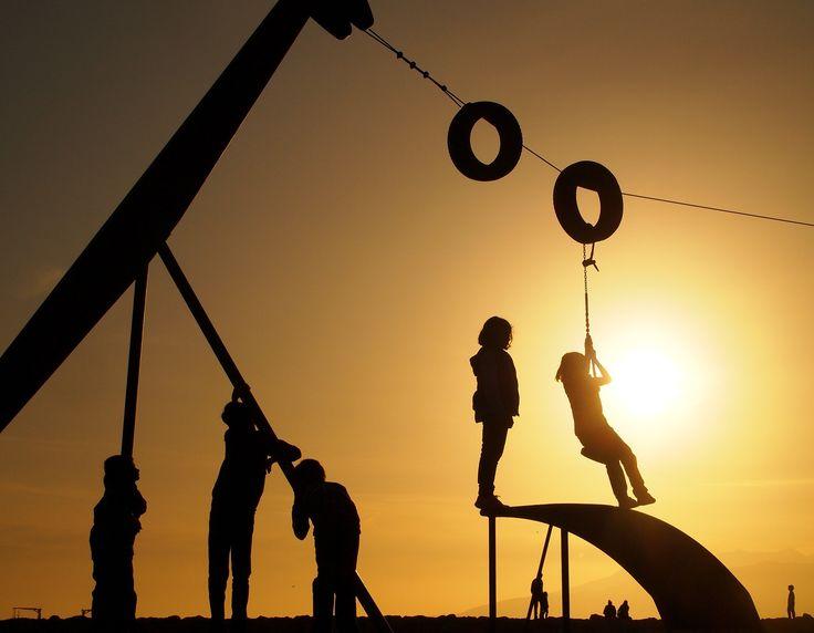 niños jugando - OLYMPUS DIGITAL CAMERA
