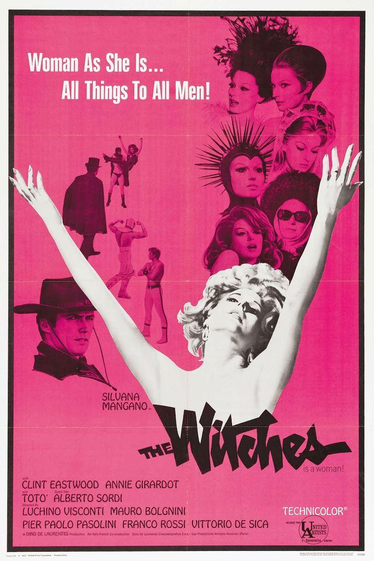 """""""Le streghe"""" (1967). Country: Italy. Director: Luchino Visconti, Mauro Bolognini, Franco Rossi, Vittorio De Sica, Pier Paolo Pasolini."""
