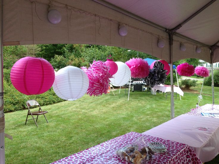Pink Zebra Invitations with great invitation layout
