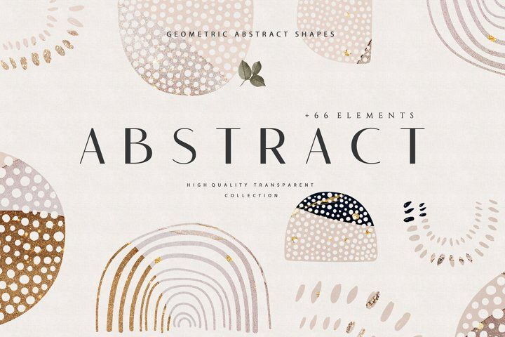 Abstract Shapes Png Overlays 740662 Textures Design Bundles Abstract Shapes Abstract Hand Lettering Cards