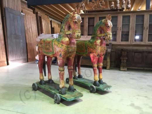 Houten Paard India