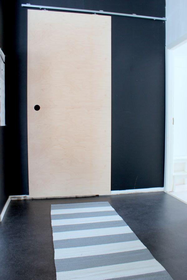 DIY sliding door -hajottamo