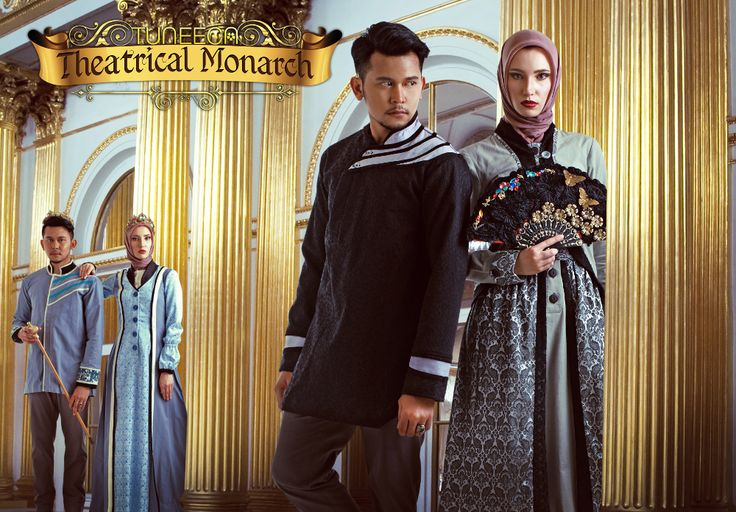 Elegance And Luxury Couple Dress