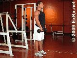 Dumbbell Straight Leg Deadlift - this is my favorite site for looking up random lifts, because the gif's really show the total motion without having to load and watch a youtube video.