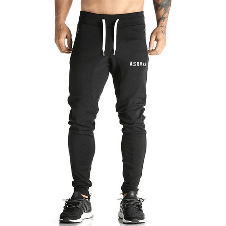 Golds Pants Mens Tracksuit Bottoms Cotton Fitness Skinny Joggers Sweat Pants Pantalones Chandal Hombre Casual Pants. Click visit to buy #SkinniPants