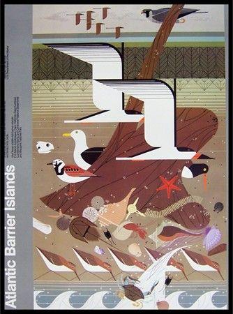 Charlie Harper - Atlantic Barrier Islands Poster