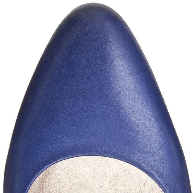 Pantofi cu toc subțire GINO ROSSI - Lilia DCG790-P11-4300-5300-0 Niebieski 55