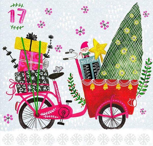 Illustration by Miriam Bos; seen on HappyMakersBlog.com