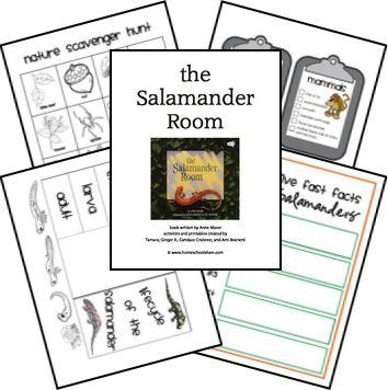 Salamander Room Lapbook Lessons FREE Printables