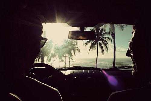 travelsThe Roads, The Ocean, Palms Trees, Beach, Summer Fun, Roads Trips, Ocean View, Photography, Roadtrip