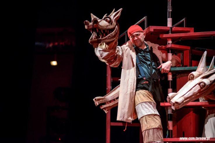 Smok Bonawentura #spektakl #teatr Banialuka #tarnow #malopolska #dladzieci