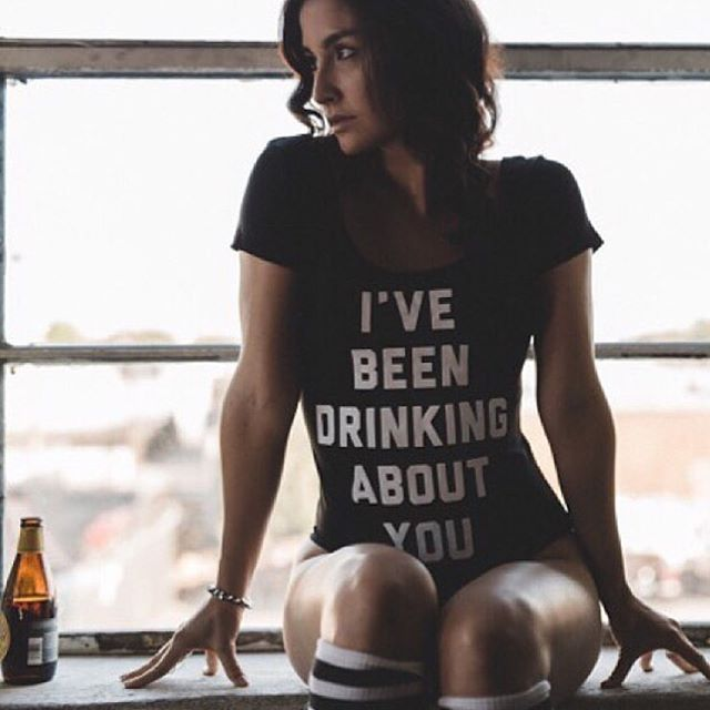 I don't always drink beer, but when I do it's on a windowsill, in a leotard, savoring my bitterness. Repost @shopcohla, the source for your softest and sassiest pieces made right here in LA.