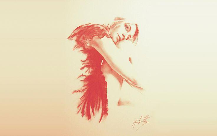Британская художница Мелисса Меилер-Йеитс создает захватывающие комбинации абстрактной и репрезентативной живописи, сосредоточенной на женской форме.