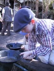 Gold Rush information - also theme park - children's chores at that time in Australian history