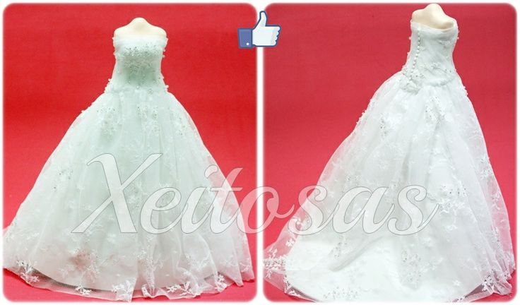 vestidos de novias para fofuchas - imagui