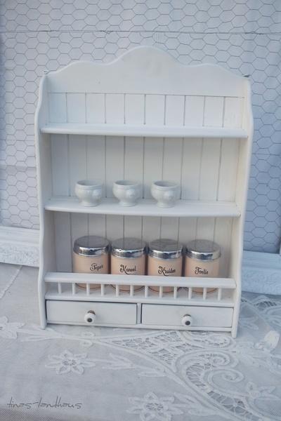 ein wundersch nes altes k chenregal gew rzregal home. Black Bedroom Furniture Sets. Home Design Ideas