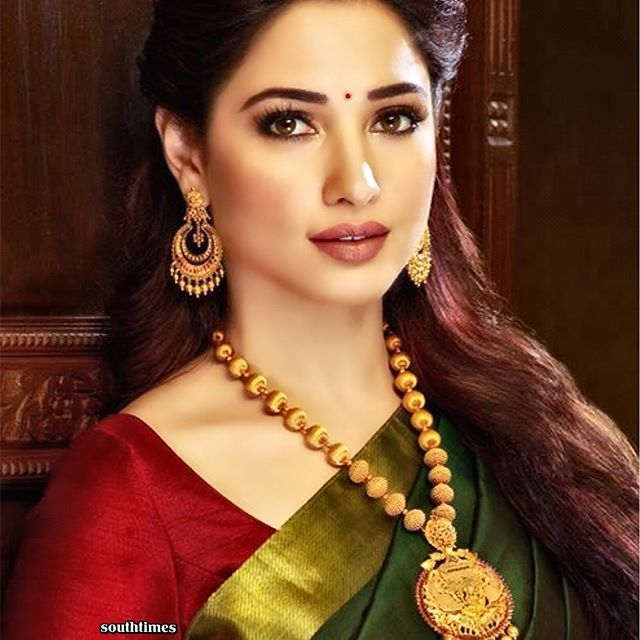 Tamannaah, looking lovely in her ads for Malabar Gold & Diamonds