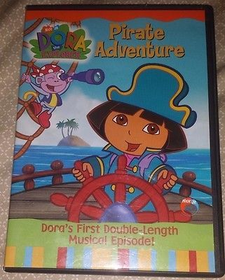 Dora the Explorer - Pirate Adventure (DVD, 2004)