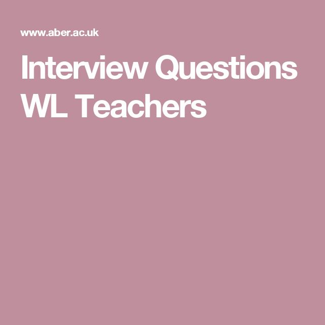 teacher interview essay question Sample teacher interview questions teacher relationships with students 1  what kind of students do you like to work with what type of students could you.