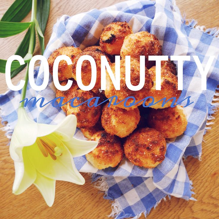 BLOGGED: A gluten free treat, coconut macaroons  #healthy #glutenfree #coconut #coconutmacaroons