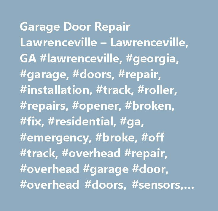 Best 25 torsion spring ideas on pinterest garage door for Garage door repair lawrenceville