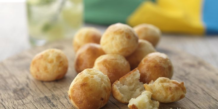 Chef Marcello Tully's light and crispy Brazilian cheese buns can be whipped up fairly quickly - a comforting homemade snack, perfect…