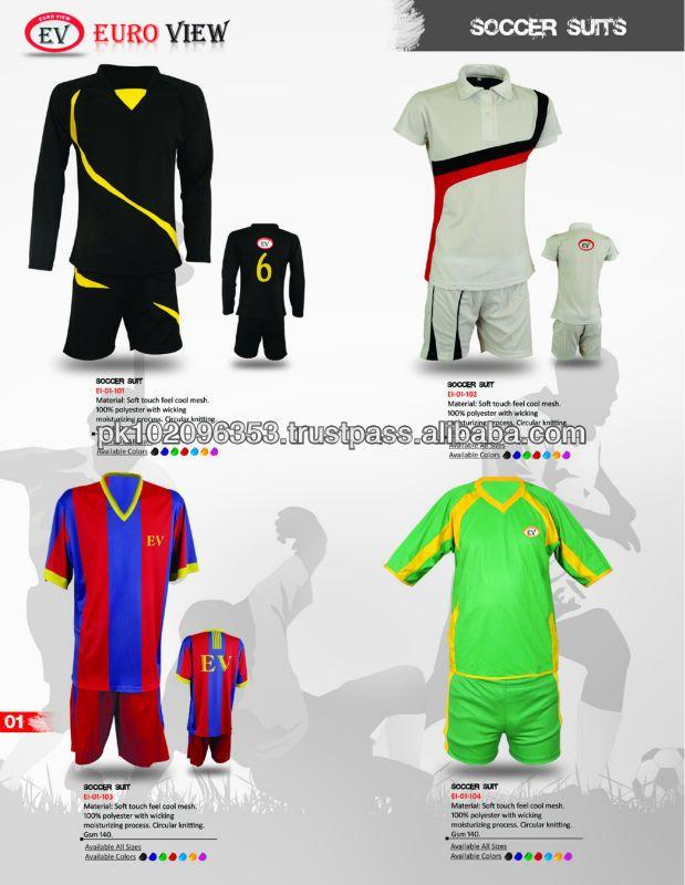 Brazil Soccer World Cup 2014 T Shirt Customized Football Shirt Soccer Set Soccer Uniform