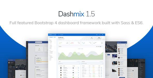 Dashmix - Bootstrap 4 Admin Dashboard Template & Laravel