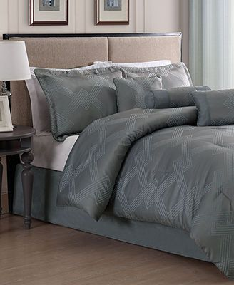 metroline 7 piece jacquard comforter sets bed in a bag bed u0026 bath macyu0027s